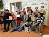 30. 9. 2015 - návštěva žáků 4. ročníku v Městské knihovně Hroznětín