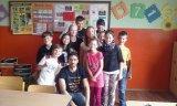 9. 6. 2015 - žáci 5. ročníku s rodilým mluvčím
