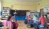 9. 6. 2015 - žáci 4. ročníku s rodilým mluvčím
