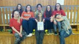 17. 2. 2016 - basketbal dívky, okrskové kolo, 2. místo