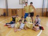 8. 1. 2015 - basketbal, hoši 4. a 5. třídy - 2. místo