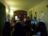 10. 12. 2014 - pěvecké vánoční vystoupení žáků V domově pokojného stáří v Hroznětíně