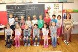 Foto žáčků 1. ročníku do Karlovarského deníku