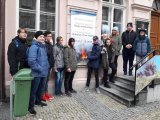 12. 11. 2019 - výstava Sopky našeho kraje, žáci 9. ročníku