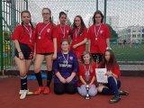 13. 5. 2016 - minifotbal, dívky 8. a 9. ročníku, krajské kolo - 2. místo