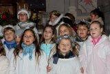 1. 12. 2017 Rozsvěcení vánočního stromu - vystoupení našich žáků v kostele