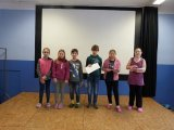 22. 1. 2018 školní kolo recitační soutěže, účastníci 2. kategorie (4. a 5. ročník)