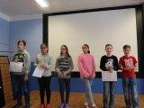 22. 1. 2018 školní kolo recitační soutěže, účastníci 3. kategorie (6. a 7. ročník)