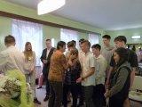 28. 6. 2018 - rozloučení s žáky 9. ročníku v obřadní síni
