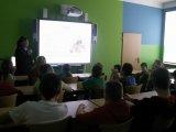 4. 2. 2016 - beseda s policistkou p. Papežovou, žáci 6. a 7. ročníku