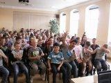 25. 5. 2018 preventivní program Radka Bangy - Nenech se ovládnout, žáci 4. - 9. ročníku