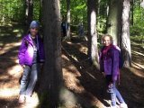Cvičení v přírodě, žáci 1. stupně