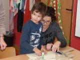 13. 12. 2017 - vánoční dílna (práce rodičů se svými dětmi)