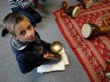 4. 11. 2015 - živé muzicírování s Janan v Městském společenském centru, žáci 4. ročníku