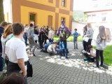 21. 5. 2019 - projektový den s žáky z Falkensteina