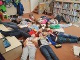 Knihovna Hroznětín, žáci 4. a 5. ročníku