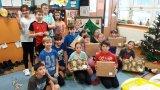akce Krabice od bot, žáci 5. ročníku