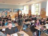 27. 4. 2018 - projektový den Čarodějnice, žáci 1. stupně, MŠ Hroznětín, žáci 4. a 5. ročníku ze ZŠ Merklín