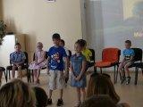 12. 6. 2019 - pasování na čtenáře, žáci 1. ročníku v Městském společenském centru
