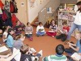 3. 11. 2016 - knihovna Hroznětín, žáci 4. ročníku