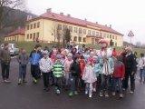 23. 3. 2017 - vynášení Morény, žáci 1. stupně