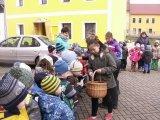 23. 3. 2016 - vítání jara, žáci 1. stupně