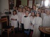 20. 12. 2017 vystoupení žáků 1. stupně a ŠD v Domově pokojného stáří v Hroznětíně