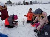7. 2. 2019 - Sněhový den, žáci 1. stpně