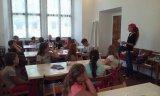 1. 6. 2017 - interaktivní školní výlet žáků 3. - 5. ročníku, Barokní Ostrov   výtvarná dílna
